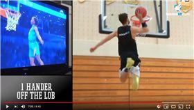 ▲職業灌籃玩家Jordan Kilganon神複製本屆灌籃大賽所有灌籃。(圖/翻攝自Jordan Kilganon YouTube)