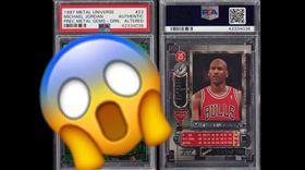 NBA/喬丹稀有卡 創千萬天價紀錄  NBA,芝加哥公牛,Michael Jordan,球員卡  翻攝自推特