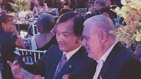 立法法院長蘇嘉全代表總統蔡英文出訪友邦聖露西亞,參加獨立40週年紀念日大典,臉書