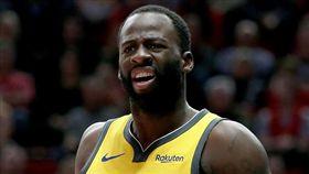 NBA/誤踩表弟!格林扭傷腳踝退場 NBA,金州勇士,Draymond Green,受傷 翻攝自推特