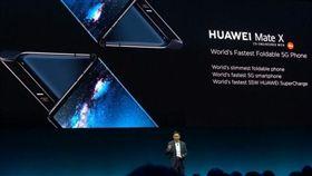 華為,三星,摺疊,5G,粉絲,MWC,螢幕, 圖/翻攝自微博