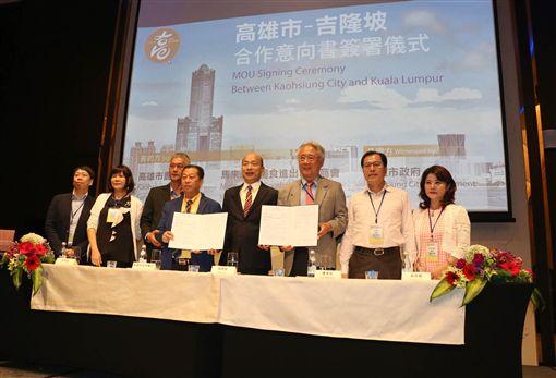 韓國瑜星馬行 簽一億元訂單,高雄市府