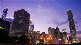 香港維港燈影節,香港,幻彩詠香江,維多利亞港。(圖/記者馮珮汶攝)