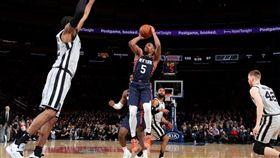 NBA/擊敗馬刺!尼克中止主場連敗 NBA,紐約尼克,Dennis Smith Jr. 翻攝自推特