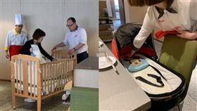 川味火鍋「海底撈」,推嬰兒床服務客人。(圖/翻攝自爆廢公社)