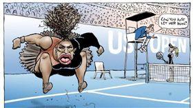 ▲澳洲前鋒太陽報的插畫。(圖/取自Herald Sun)