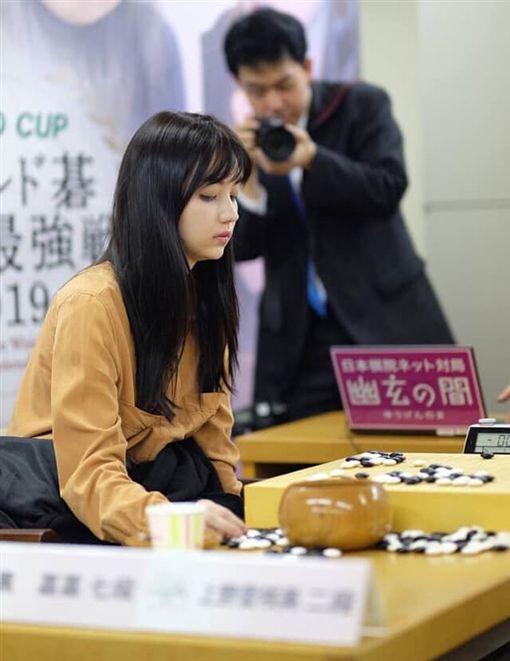 「圍棋女神」黑嘉嘉在日本奪下季軍。(圖/翻攝自黑嘉嘉IG)