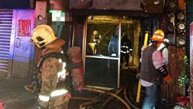 新北市,五股,手機爆炸,火警,送醫,燒燙傷