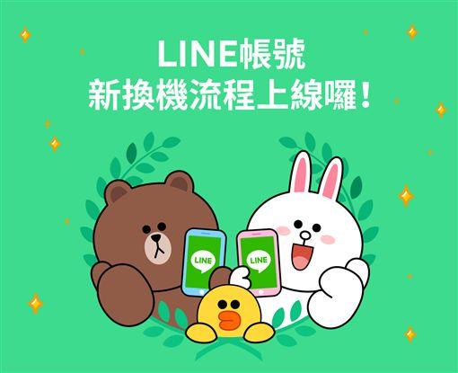 LINE,換機流程,更新,新手機,LINE帳號