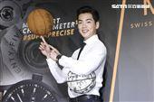 禾浩辰出席瑞士名錶代言,大秀演技外也露了手好球技激發運動員靈魂。(記者林士傑/攝影)