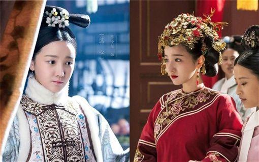 《如懿傳》中飾演「惢心」陳小紜,跟小5歲的男星于小彤傳緋聞。微博