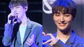 「Wanna One」一月解散後,前隊長尹智聖舉辦粉絲見面會。(圖/翻攝自hankyung)
