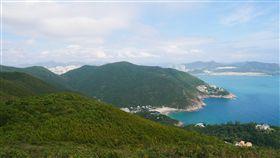 香港,爬山,旅遊。(圖/記者馮珮汶攝)