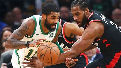 NBA/暴龍屠殺塞提 林書豪得8分NBA,多倫多暴龍,Kawhi Leonard,波士頓塞爾提克,Kyrie Irving