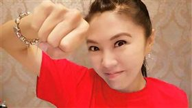 對於自己家人被恐嚇,劉樂妍相當氣憤。(圖/翻攝自臉書)