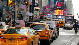 紐約曼哈頓塞車。(圖/翻攝自Pixabay)