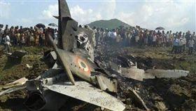 喀什米爾衝突爆發 印度軍機遭巴軍擊落3死(圖/翻攝自推特)