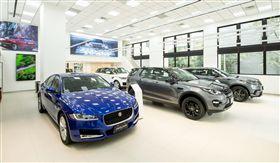 ▲Jaguar Land Rover Taiwan台北承德展示中心。(圖/Jaguar Land Rover提供)
