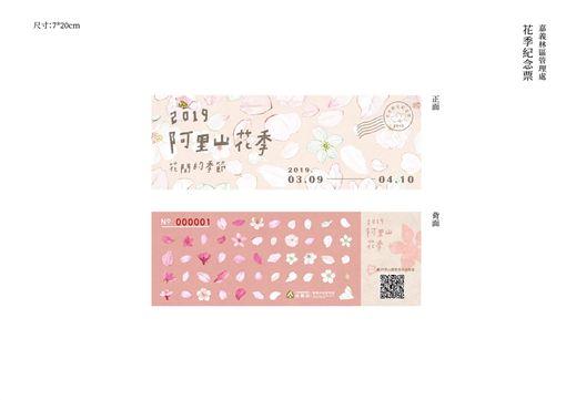 阿里山,櫻花季,門票,/林務局提供