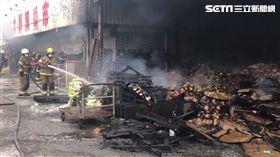 台南,菜市場,生鮮賣場,火警,縱火