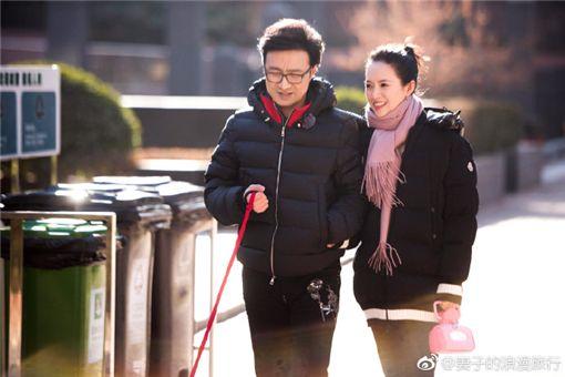 章子怡,汪峰/翻攝自妻子的浪漫旅行微博
