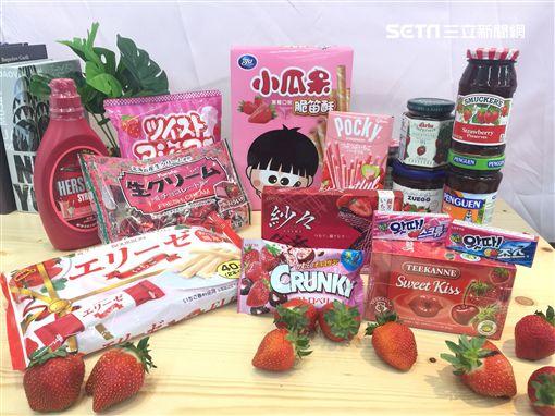 草莓,美廉社,全聯,家樂福,7-ELEVEN