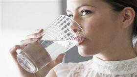 喝水 示意圖。