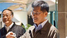 交通部長林佳龍視察蘇花改工程訪壯圍