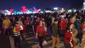 屏東台灣燈會單日湧167萬人