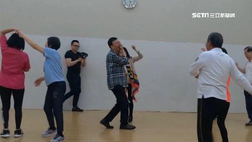 學跳舞比跑選舉難! 余天「水牛撞」李亞萍