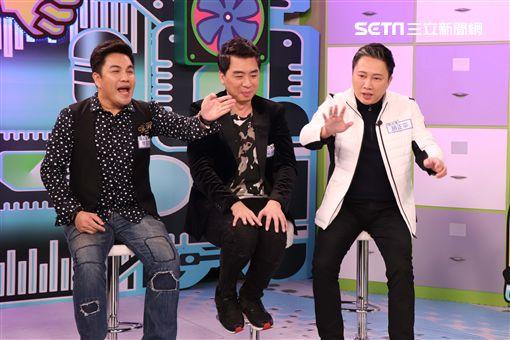 「景行廳男孩」趙正平、梁赫群、林智賢《挨踢教室》 圖/狼谷競技台提供