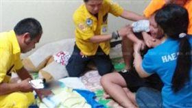 嬰兒,窒息,陪睡,新手媽媽,泰國,下意識,抱,午睡,手臂,壓到,呼吸 圖/翻攝自khaosod