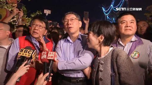 柯文哲逛台灣燈會 自嘆:台北燈會輸了!