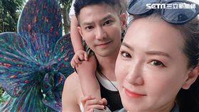 鄒承恩戲一殺青就帶著妻小同遊新加坡。(圖/霍爾果斯天寶影業提供)