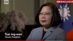 蔡英文 CNN(圖/翻攝自YouTube)