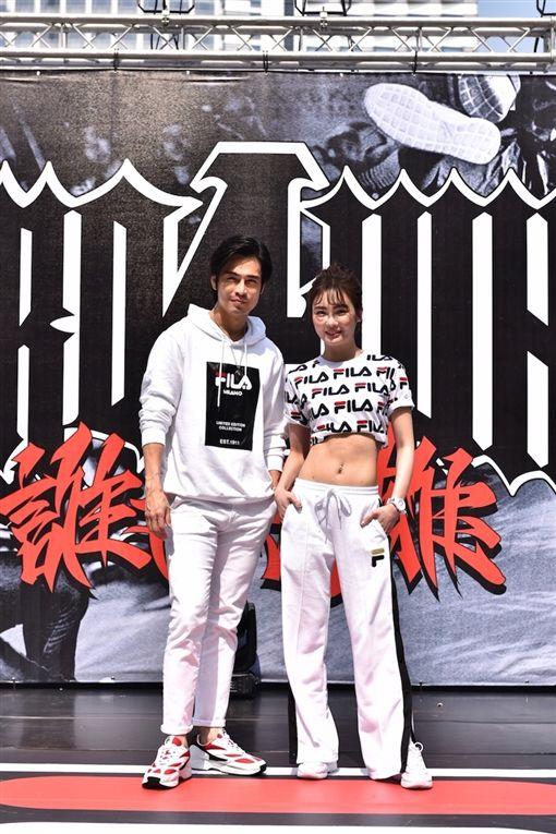 ▲舒子晨與Gino在國際街舞大賽秀舞技。(圖/主辦單位提供)