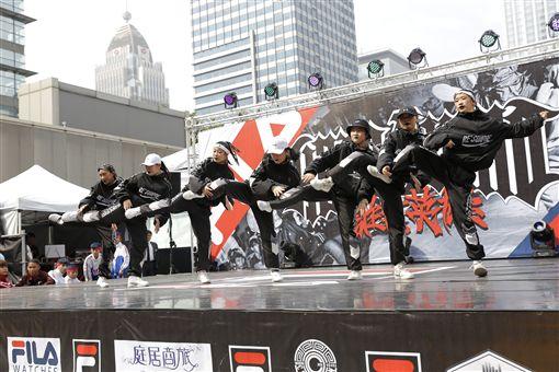 ▲來自新北市舞團Mimi DSDJ精彩演出。(圖/主辦單位提供)