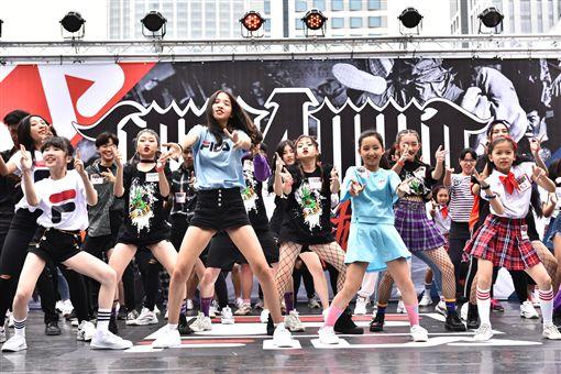 ▲國際街舞大賽FILA與ZERO 4 CREW團隊特別規劃KPOP舞蹈即播即跳項目,讓舞者展現魅力。(圖/主辦單位提供)