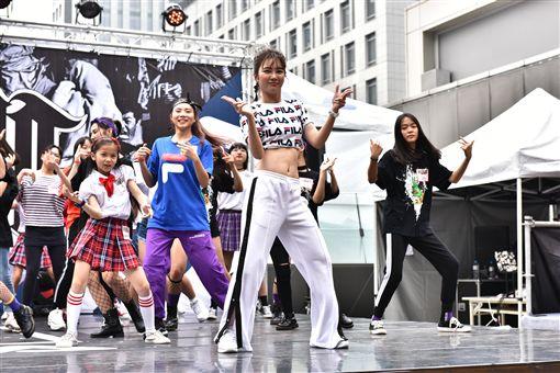 ▲新生代人氣女神 舒子晨擔任2019 HERO 4WHO國際街舞大賽嘉賓及客座評審。(圖/主辦單位提供)