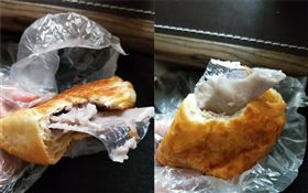 好市多芋頭奶油酥吃到「透明塑膠片」。(圖/翻攝自Costco好市多 商品經驗老實說)
