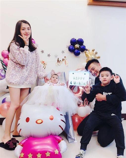 林佑星,手術,眼袋,嫩妻/翻攝自林佑星臉書