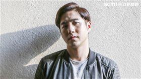「必勝大丈夫」許騰介娛樂星聞專訪。(記者林士傑/攝影)