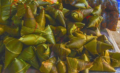 肉粽,端午節,翻攝自Pixabay