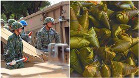 站夜哨小蜜蜂妹妹賣肉粽…他吃下見腐蛆!老兵:她來報仇的,合成圖,翻攝自Pixabay、國防部發言人臉書