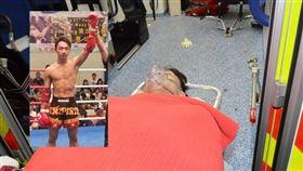 泰拳高手遭5人伏襲 被斬雙腳、全身是血伏倒街頭(香港《星島日報》)
