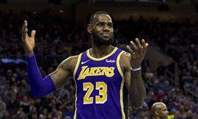NBA/詹皇罰丟關鍵球 湖人輸太陽 NBA,洛杉磯湖人,LeBron James 翻攝自推特