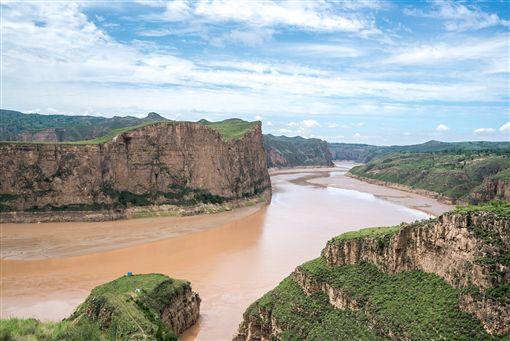 ▲太極灣景區曲折的河道(圖/shutterstock.com)