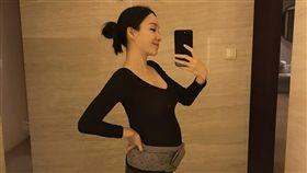 前主播張宇/懷孕。臉書