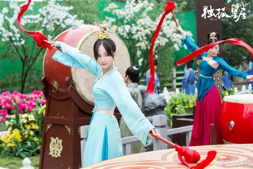 陳喬恩、獨孤皇后。(圖/微博)