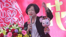 王惠美出席花在彰化記者會(1)彰化縣長王惠美31日在台北出席「2019花在彰化-花好月圓豬事如意」記者會,宣傳彰化在地花卉與燈會。中央社記者吳家昇攝 108年1月31日